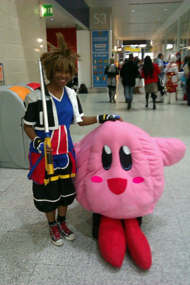 Kirby and Sora by ryuzakihowl