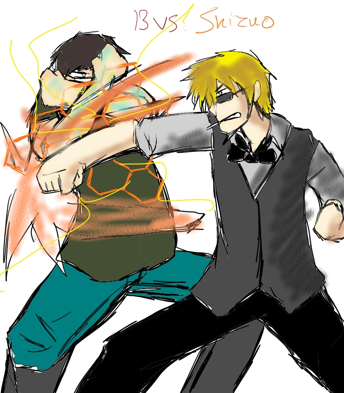 13th vs Shizuo by 13thprotector