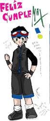 MAX: FELIZ CUMPLE by Angichi