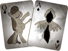 Blackjack Cutie Mark (Weathered) by sirhcx