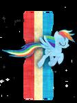 Rainbow Dash Mustang
