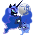 Three Luna Moon