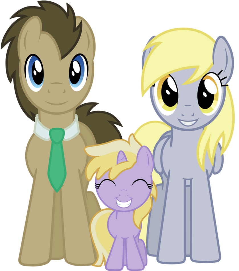 Mlp Derpy And Dr Whooves And Dinky Traffic Club