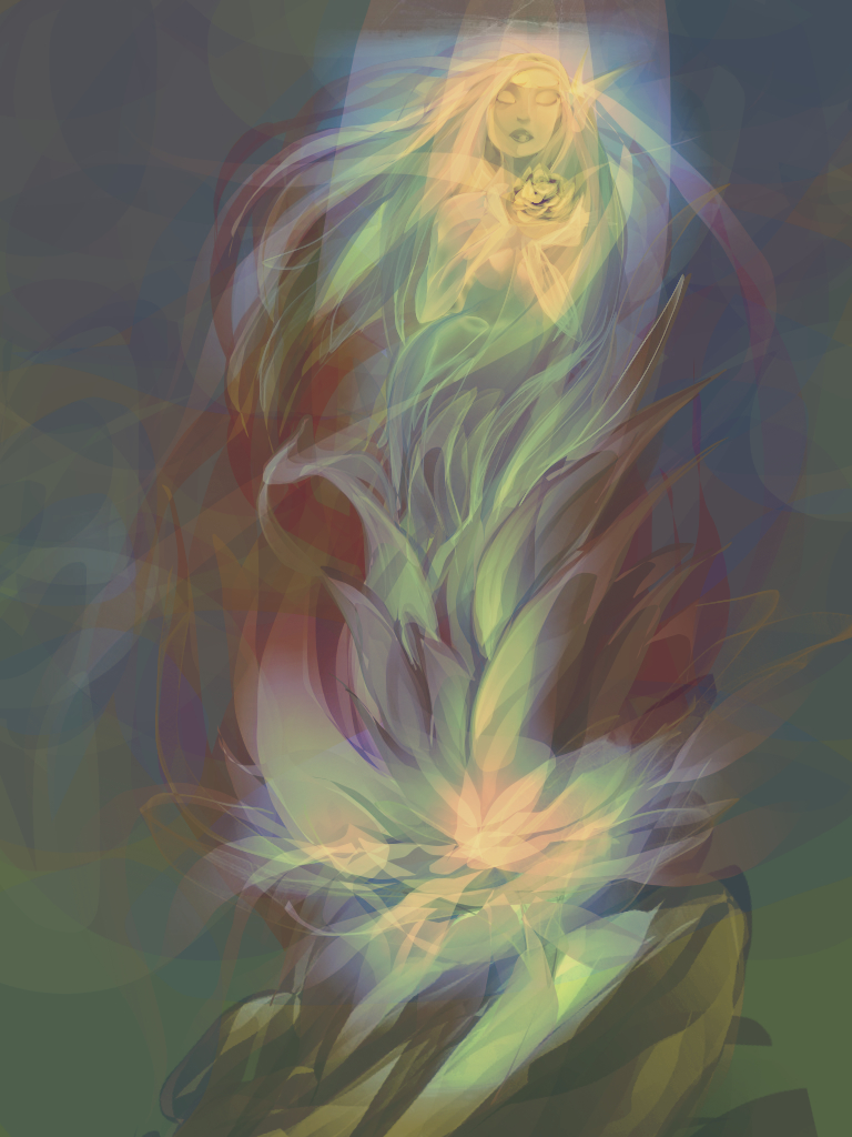 Glow blossom by Auroraeonus