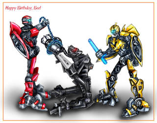 Happy Birthday Bee by Bezum