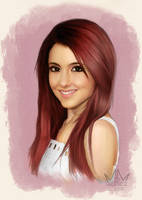 Ariana - Colored Version by artlon