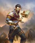 Steampunk Warrior by artlon