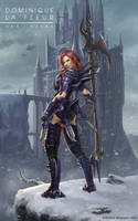 FF XIV Dragoon - Neeka by artlon