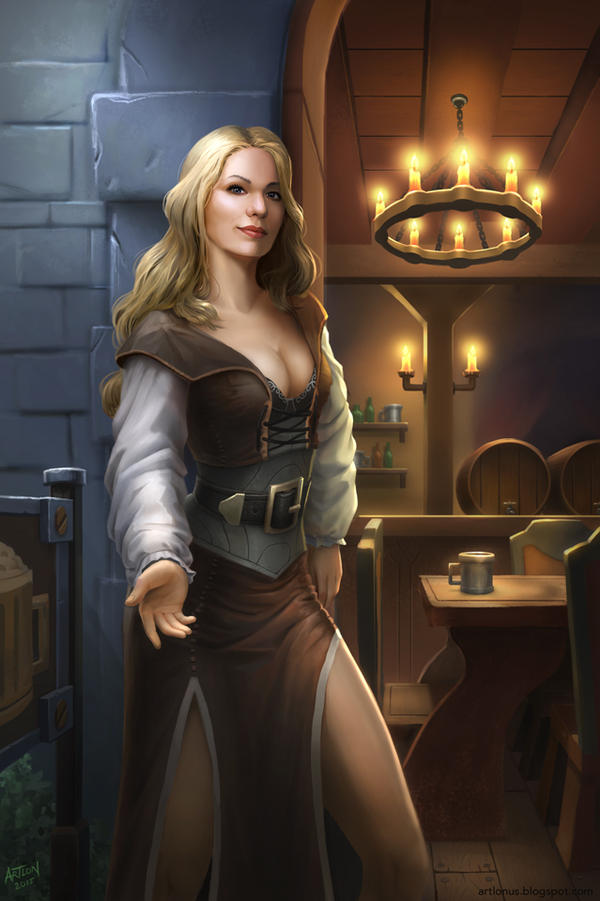 Welcome to my Tavern by artlon
