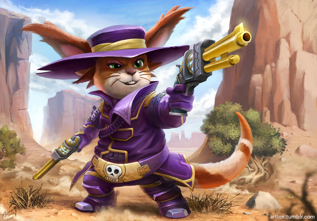 CHUA-LD Wild West by artlon