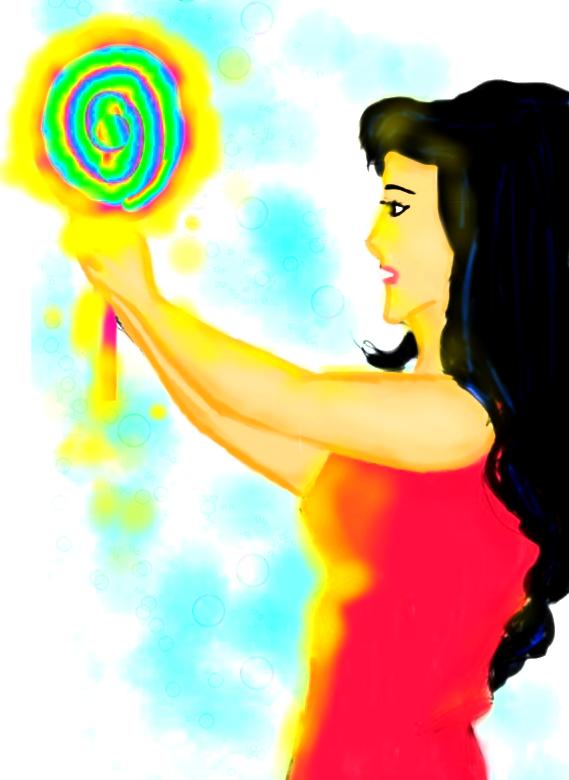 Magic Mirror Original Art (Digital) by starmoon2208