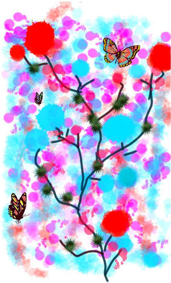 Garden-OriginalArt (Digital) by starmoon2208