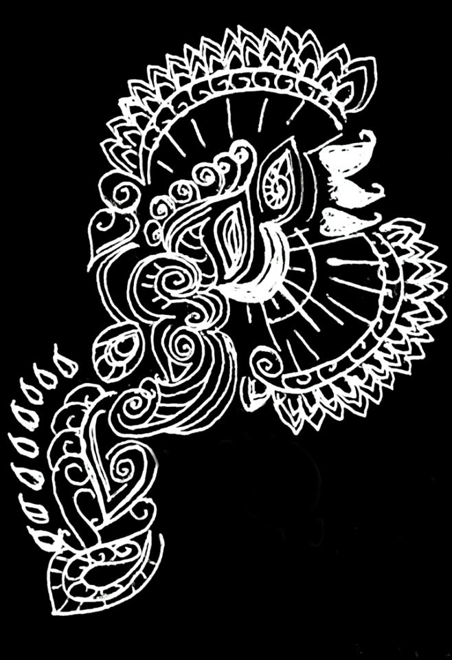 Design (mixed media Original) by starmoon2208