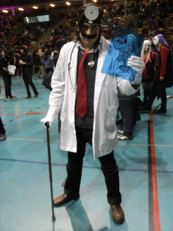 dr mario cosplay by chalecus on deviantart