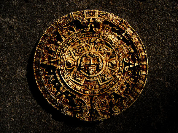 aztec calendar stone Image credit: wikimedia commons in the midst of a massive project to strengthen the foundation of the mexico city cathedral, excavation.