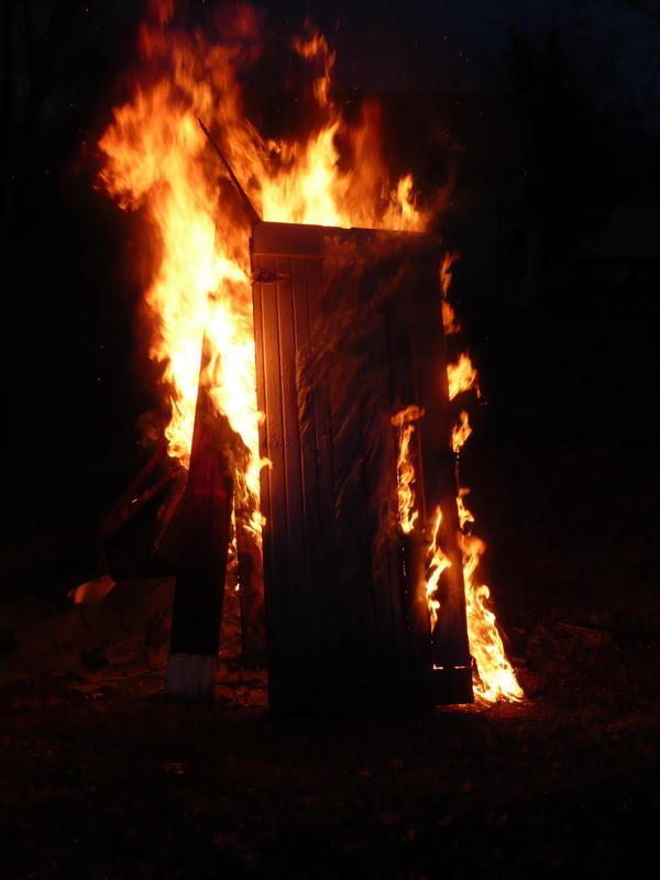 Flaming Door