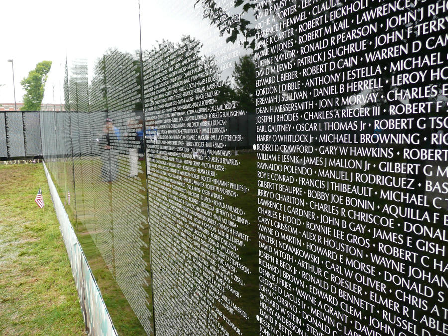 Vietnam Moving Wall names 1 by dull stock on DeviantArt