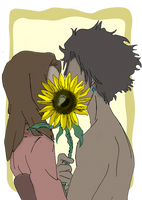 SC: Sunflower Smooches by Sweet-As-Spice