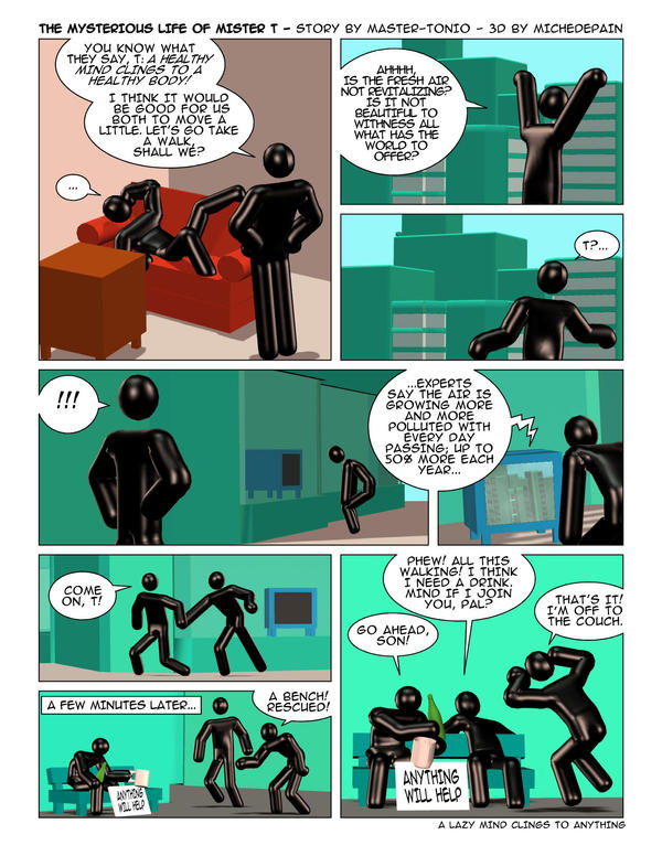 The Mysterious Life Of Mr T 14 By Master Tonio On Deviantart