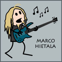 Marco Hietala by moggiethespiral
