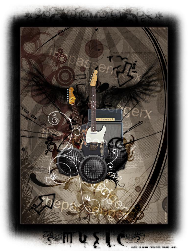 Music... by ThePassengerX