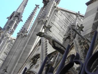gargoyle between iron n stone by ancient-spells
