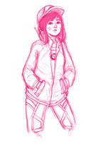 D.va sketch by madddys