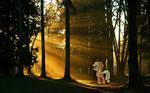 Applejack Sunset Forest