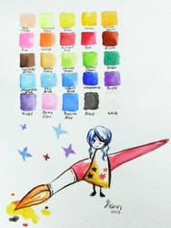 Colour Chart by YXinn