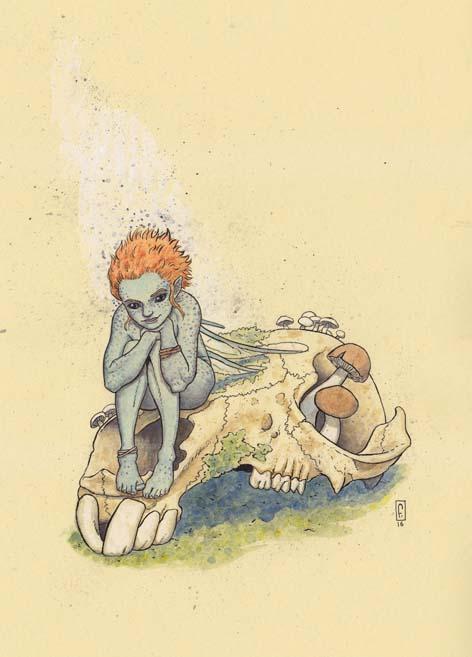 Fae Macropus by sturstein