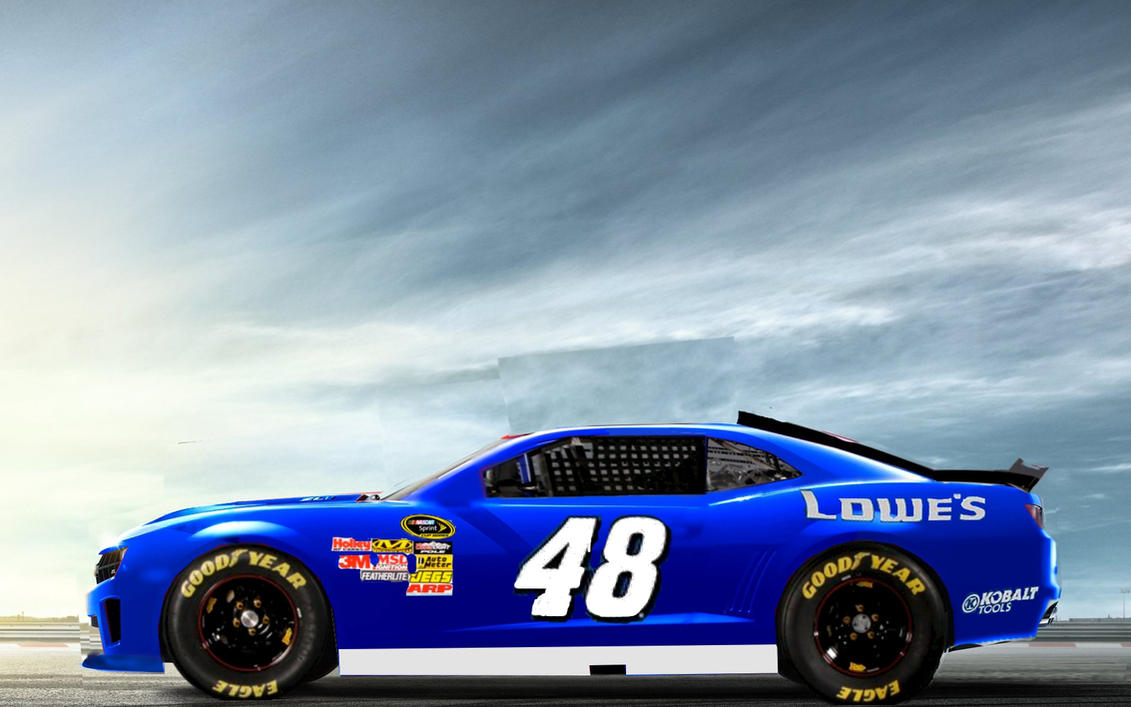 Jimmie Johnson Chevy >> Jimmie Johnson S 2012 Lowes Chevrolet Camaro By Chef211 On Deviantart