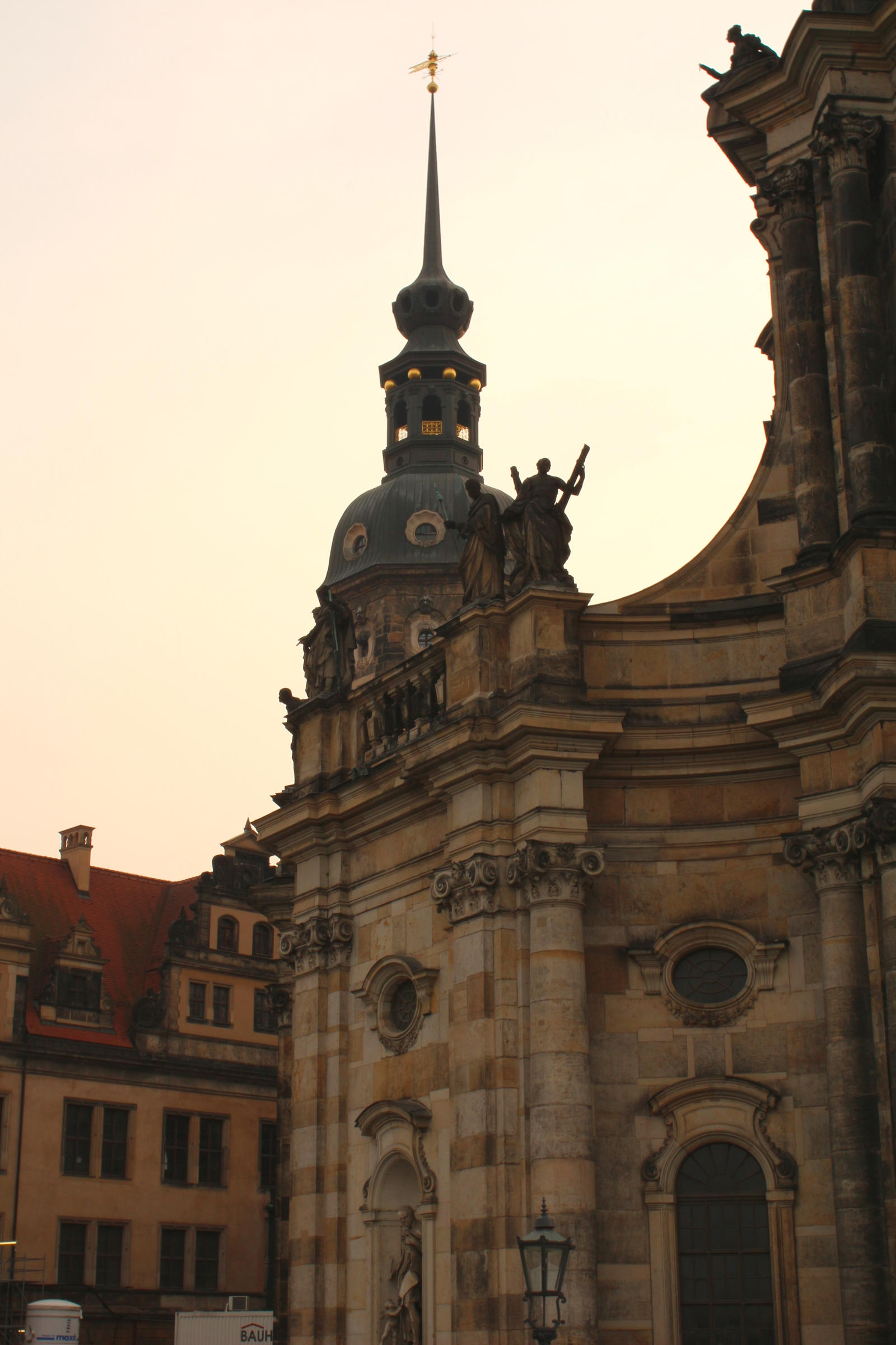 dresden: Part of Frauenkirche by LoveForDetails