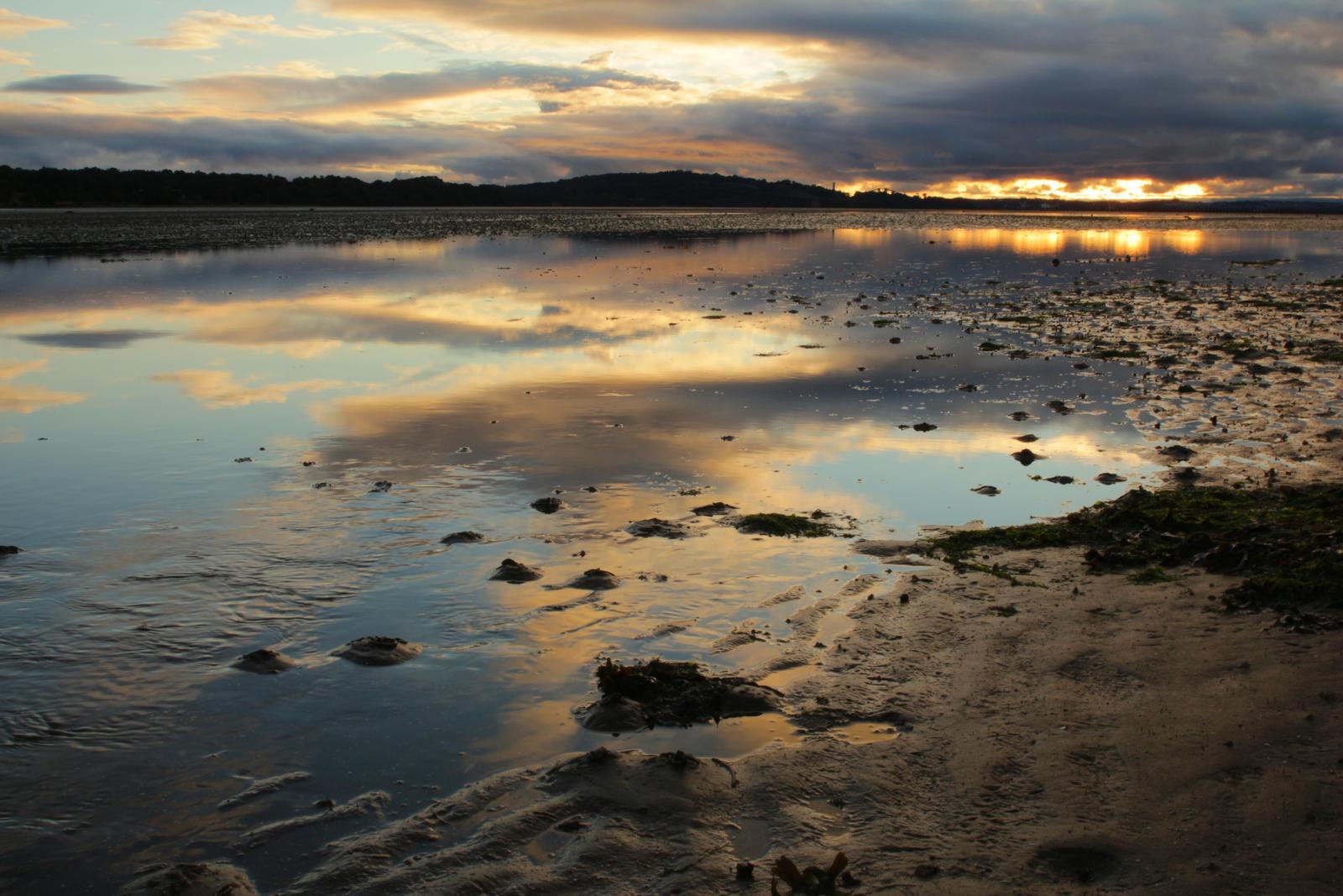 Edinburgh Sundown at the bay by LoveForDetails