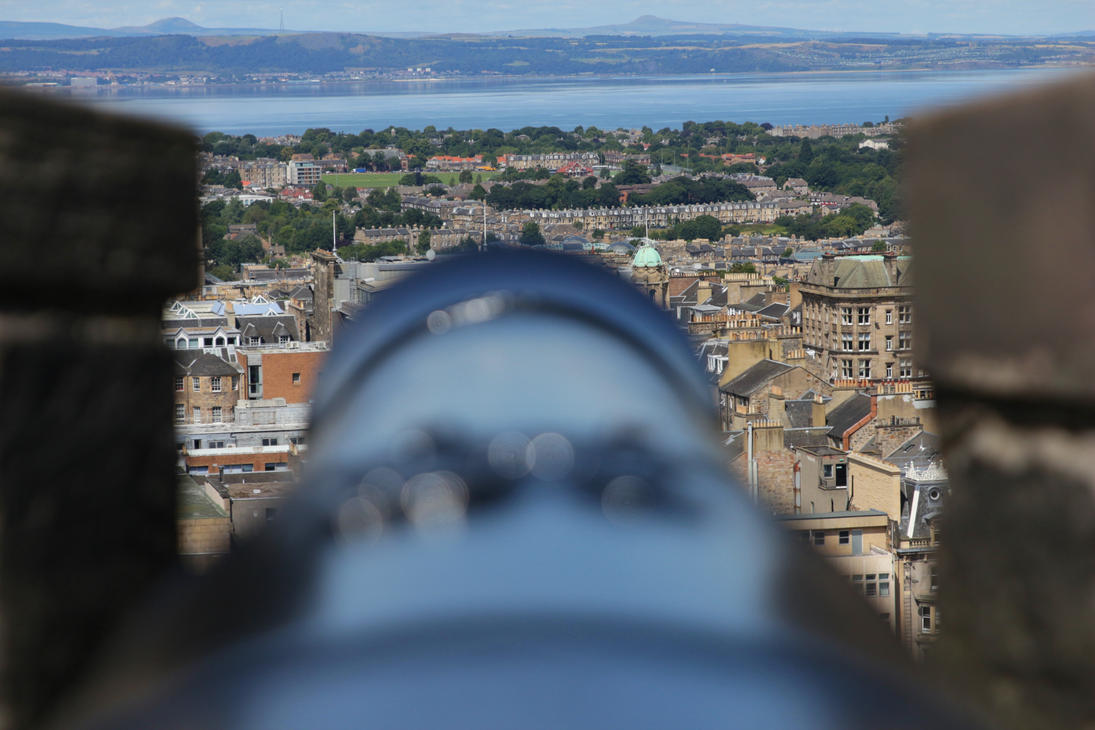 Canonn View from Edinburgh Castle by LoveForDetails