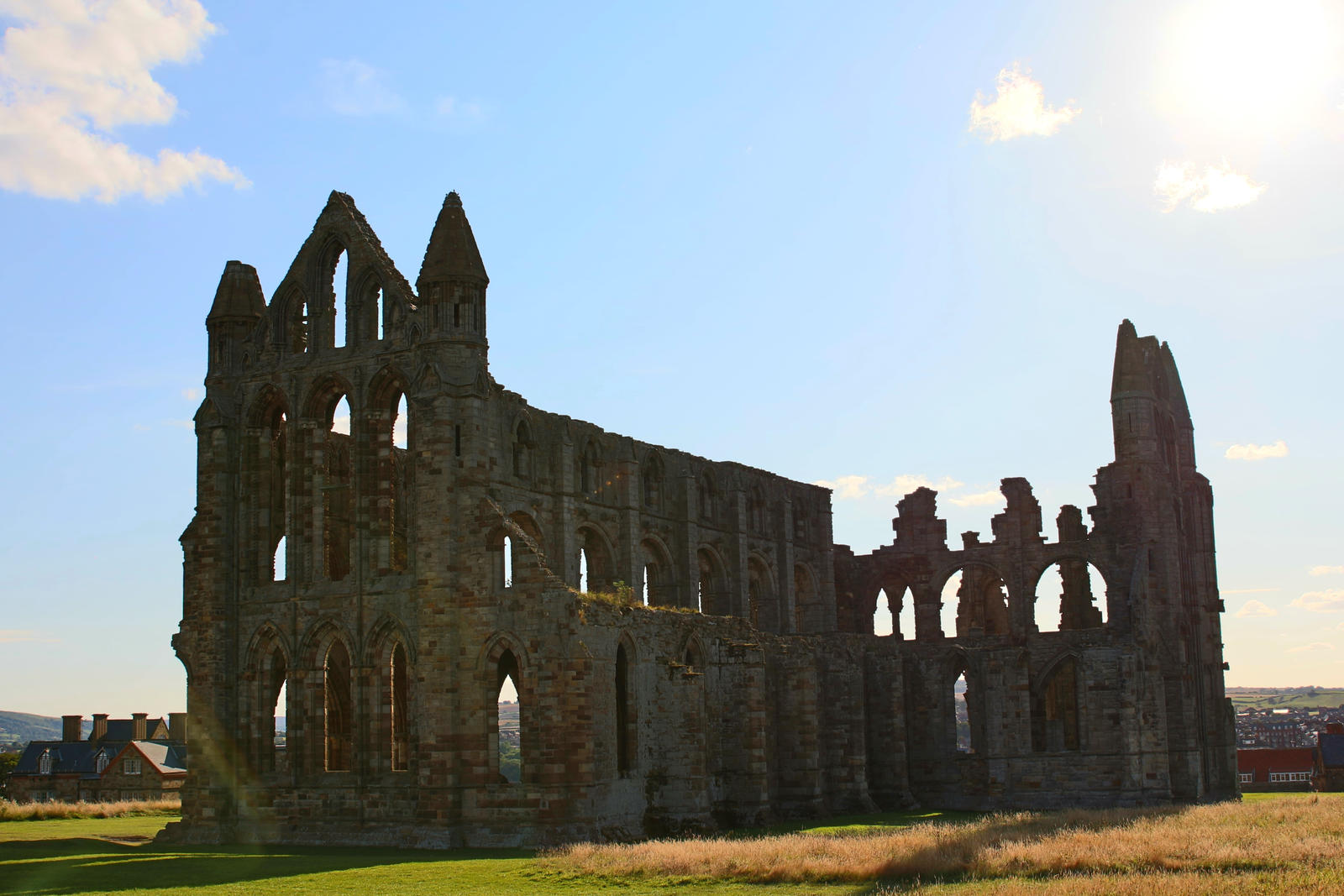 Ruin of a Castle at Whitby by LoveForDetails