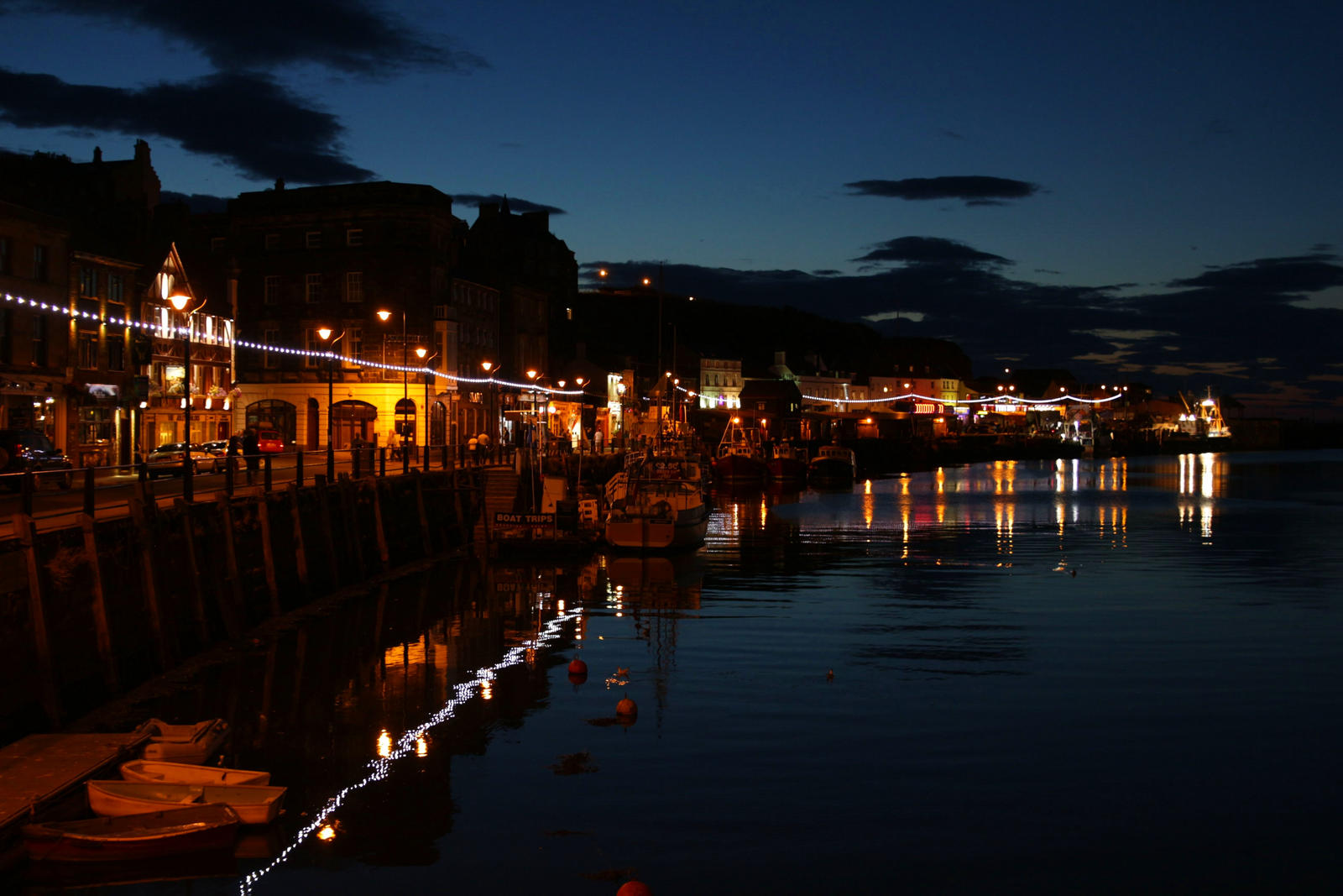 Whitby in the evining by LoveForDetails