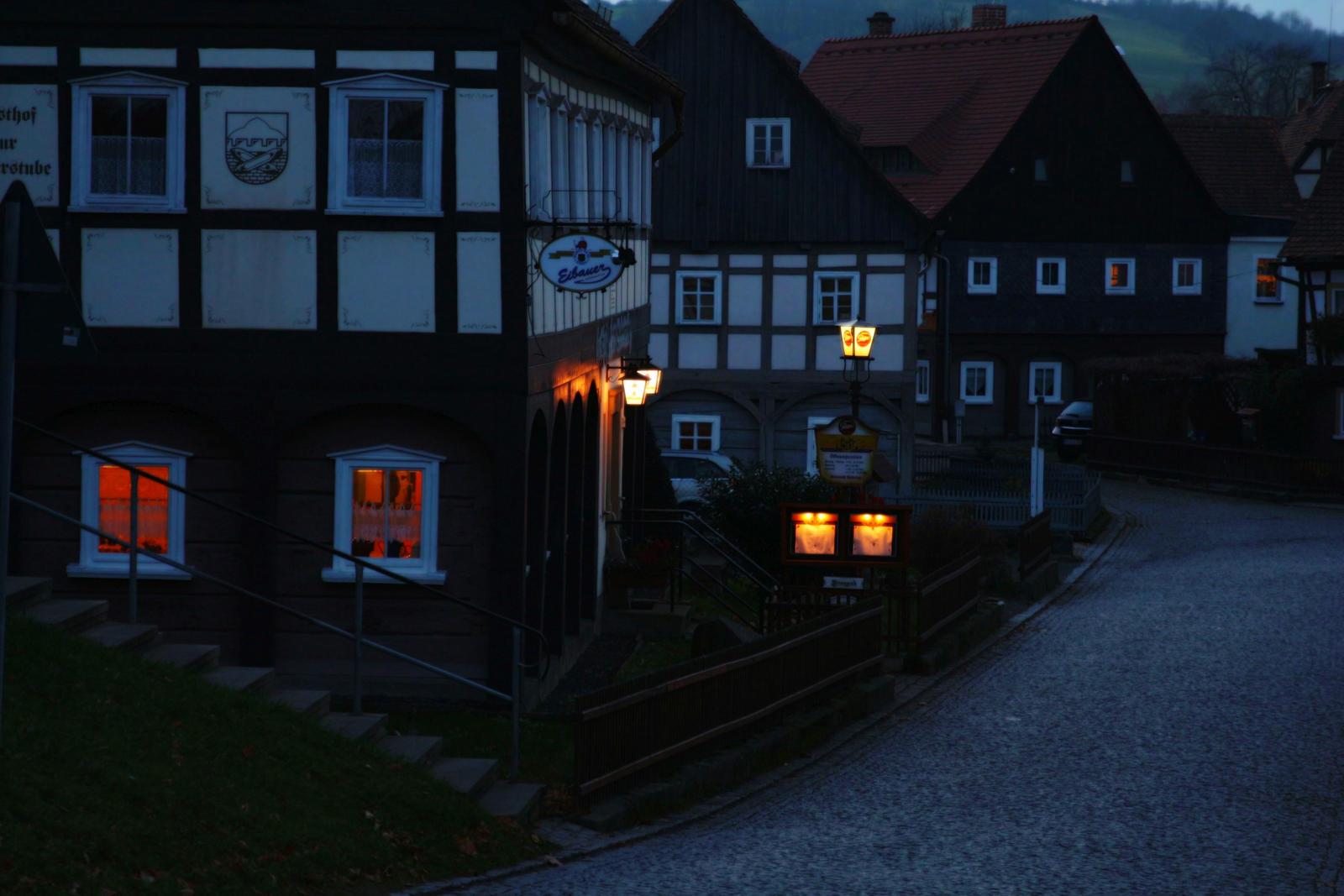 Street of Grosschoenau, Germany by LoveForDetails