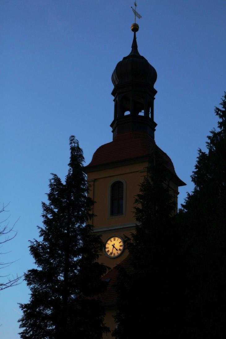 Evangelical Church, Grossschoenau, Germany by LoveForDetails