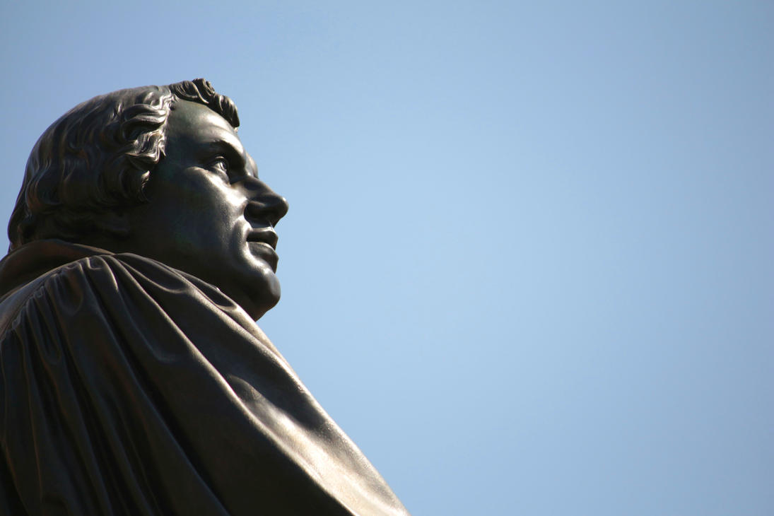 Martin Luther Stature Dresden by LoveForDetails