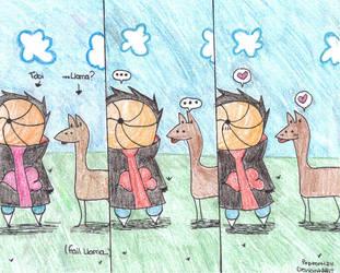 Tobi loves Llamas by Poptart124