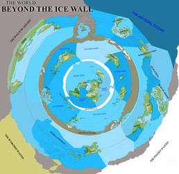 Beyond the ice wall - Free to use map