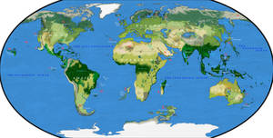 Oha's Earth 3.0 - divergent geography