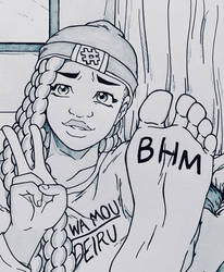 Amber Repping Her Heritage (BHM Special)