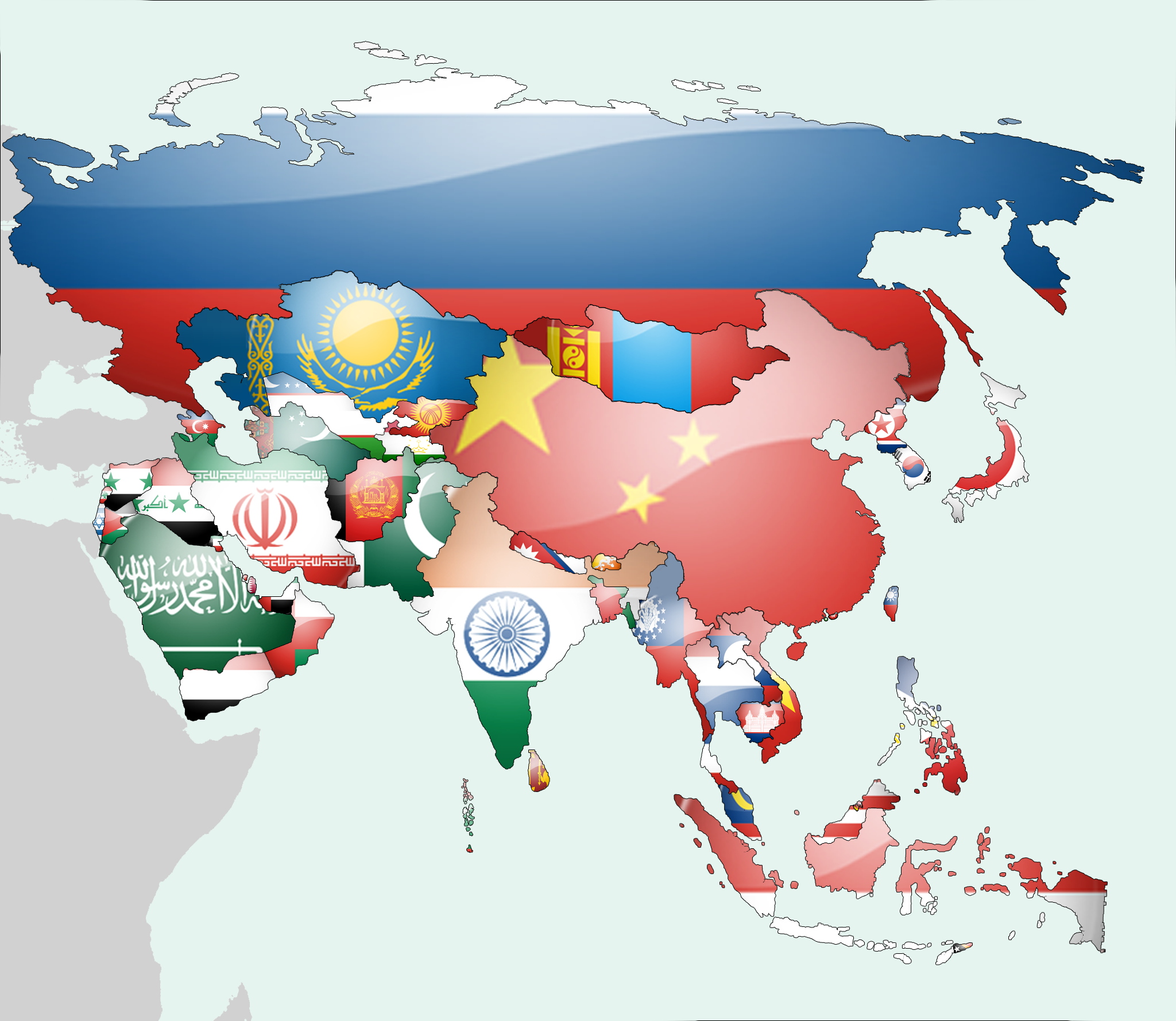 South America Flag Map By Lgstudio On DeviantArt - South america map and flags