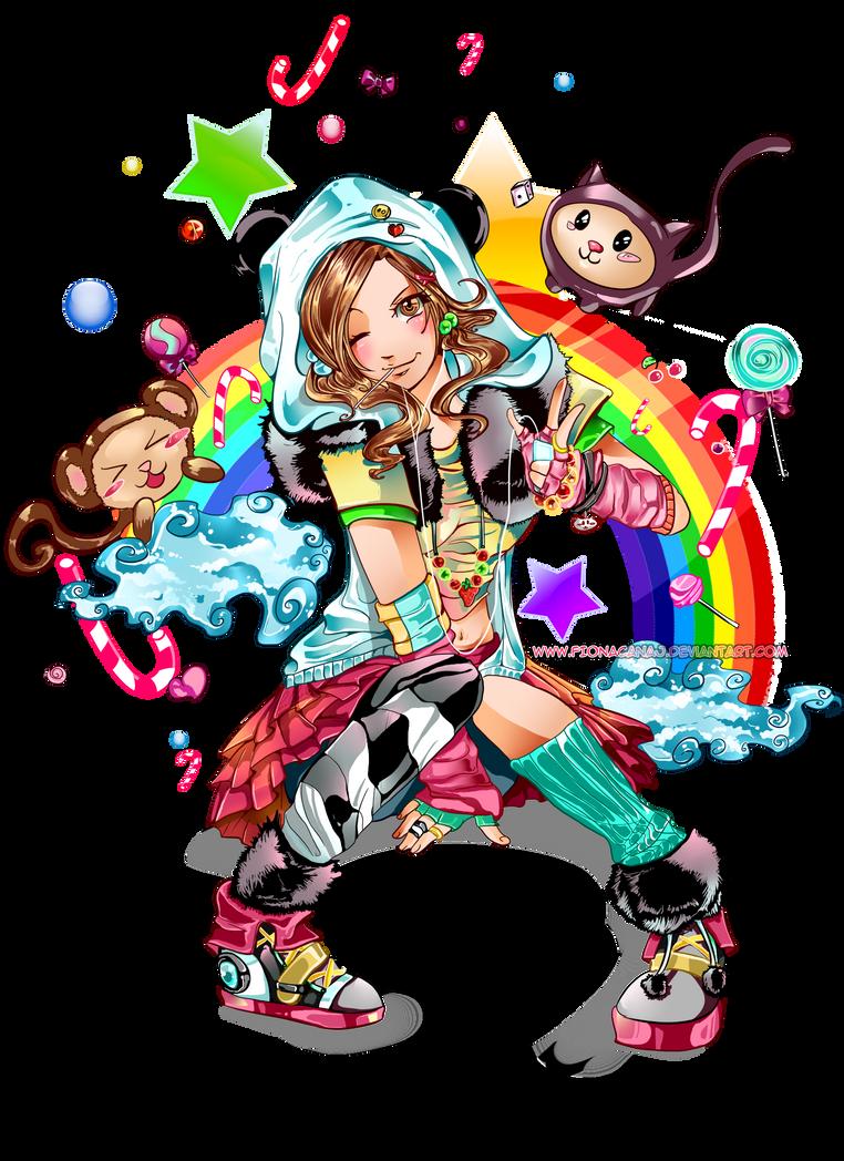 Kawaii Girl by FCNart