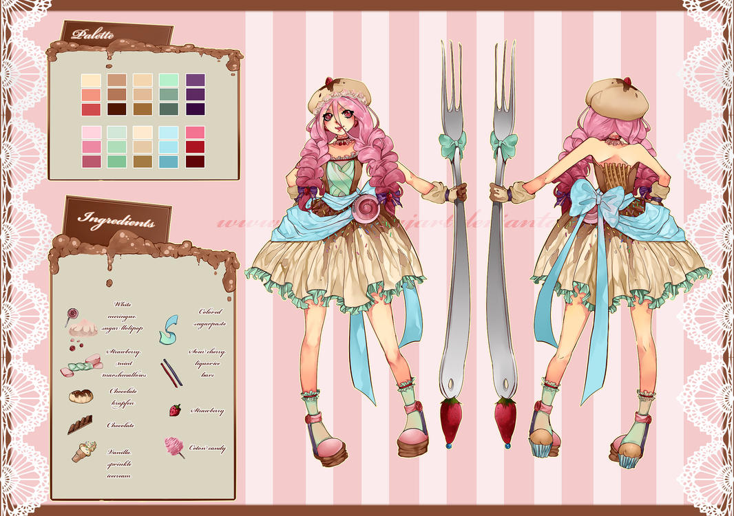 Candy Lolita Adoptable:AUCTION [CLOSED] by FionaCanajART