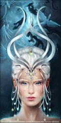 .Twillight Priestess. by AlexandraKnickel