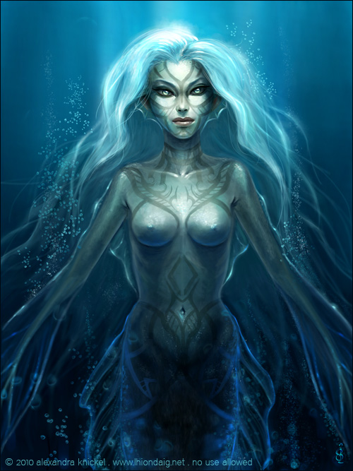 Mermaid by AlexandraKnickel