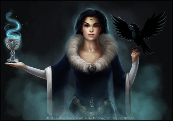 The Lady by AlexandraKnickel