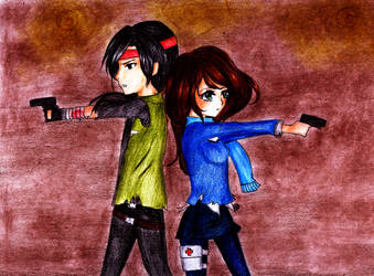 Stay alert! .:CE:. by PinkClaire-san